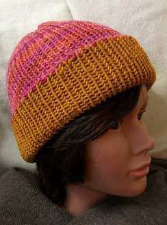 Photo of Reversible Knit Hat (5), Alpaca & Merino