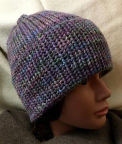 Photo of Chunky Hand Dyed Alpaca/Wool Hat