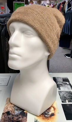 Dyed Alpaca Watch Cap