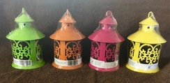 FWF Alpacas Bird Nest Fleece Lanterns