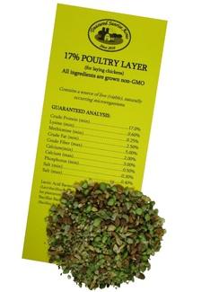 Non-GMO 17% Layer