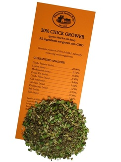 Non-GMO 20% Chick Grower