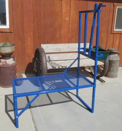 Metal Folding Goat Milking Stands
