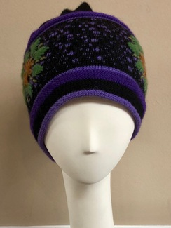 Twilight Lined Alpaca Cap