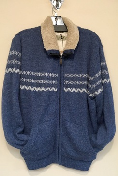 Fleece Lined Alpaca Sweater