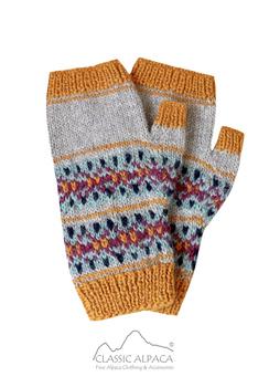 Otuzco Baby Alpaca Fingerless Gloves