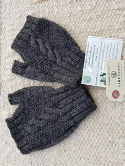Photo of Cable Fingerless Glove