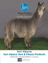 SuperFleece Suri Alpacas - Logo
