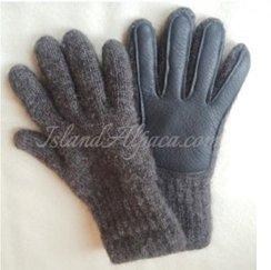 Alpaca Deerskin Driving Glove