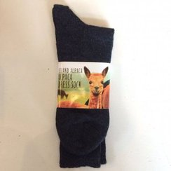 Alpaca Dress Sock
