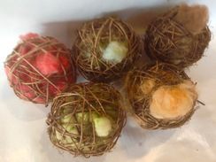 Photo of Alpaca Fiber Bird Nesting Ball