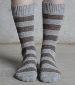 Alpaca Striped Sock