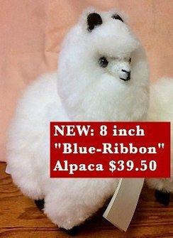 100% Baby Alpaca Fur Alpaca (8 inch)