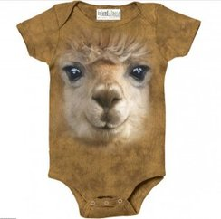 "Big-Face Bruno ""Spit Happens"" Onesie"
