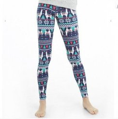 Alpaca Festive Leggings