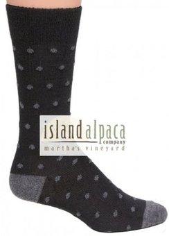 Polka Dot Alpaca Socks