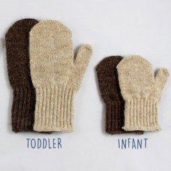 Fiber Coop Toddler & Baby Alpaca Mittens