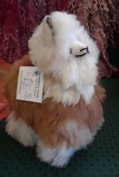 "Photo of 7"" Real Fiber Alpaca Toy"
