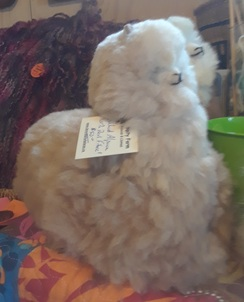 Photo of Cushed Alpaca Toy - Large