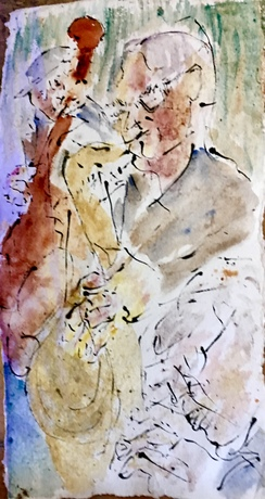 Saxy Jazz United Hub- Her Art Here