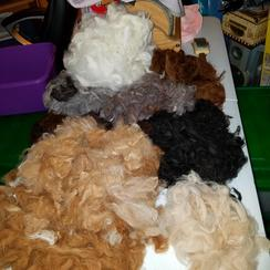 Fiber for felting