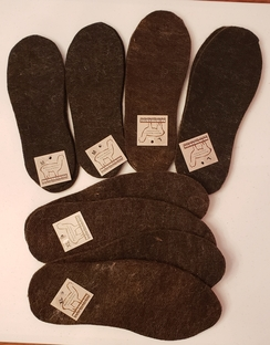 Photo of Boot Inserts, Felted, Alpaca Fiber
