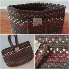 Photo of Tote/Purse, Alpaca Fiber, Square Bottom