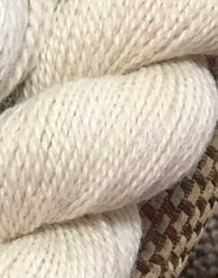 Photo of 2 Ply Worsted Yarn Natural