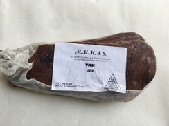 Yak Sliced Liver / $11.00 per pound