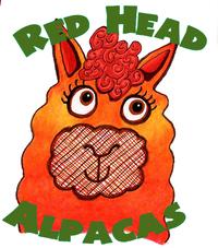 Redhead Alpacas - Logo