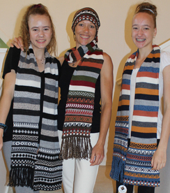 Photo of Cap Scarf Stripes