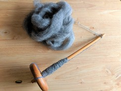 Learn to Spin Using a Drop Spindle