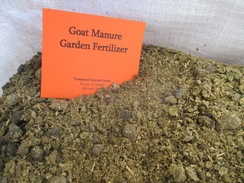 Goat Manure - Garden Fertilizer