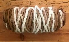 100% Suri Alpaca Core Spun Rug Yarn