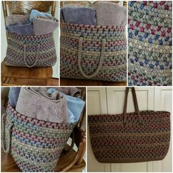 Photo of Tote, Alpaca Fiber, Sq Bottom