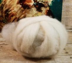 Homegrown White BFL Roving