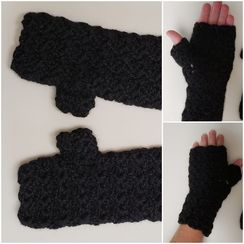 Mittens, Fingerless
