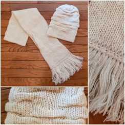 Photo of Hat (Swirl) and Scarf Combo