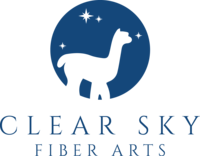 Clear Sky Fiber Arts a part of Clear Sky Alpacas - Logo