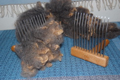 Photo of FFAF class - Combing and Carding