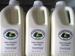Pasteurized Goat Milk