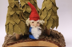Needle Felted Gnome Friend