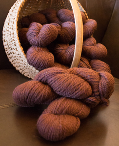 Photo of Alpaca Blend Semi Bulky Yarn: Bronze Lea