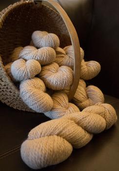 Photo of 100% Alpaca Semi Bulky Yarn - Blinie