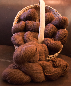 100% Alpaca Worsted Yarn: Bushwhacker