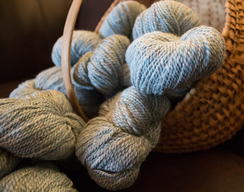 Alpaca Blend Worsted Yarn - Ranch Jeans