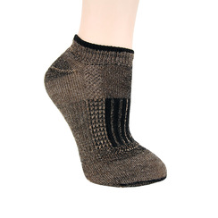 Back Paca Ankle Socks