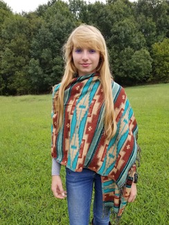 Reversible  large Shawl