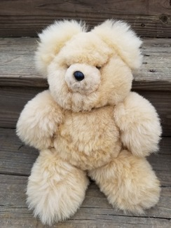 The perfect gift 100% alpaca large teddy