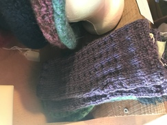 Photo of Wool Fingerless gloves handmade